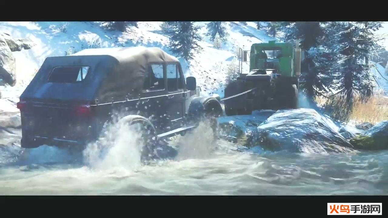 雪地奔驰手游截图1