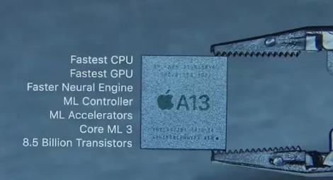 苹果A13仿生芯片相当于几核处理器 A13仿生芯片强大在哪里